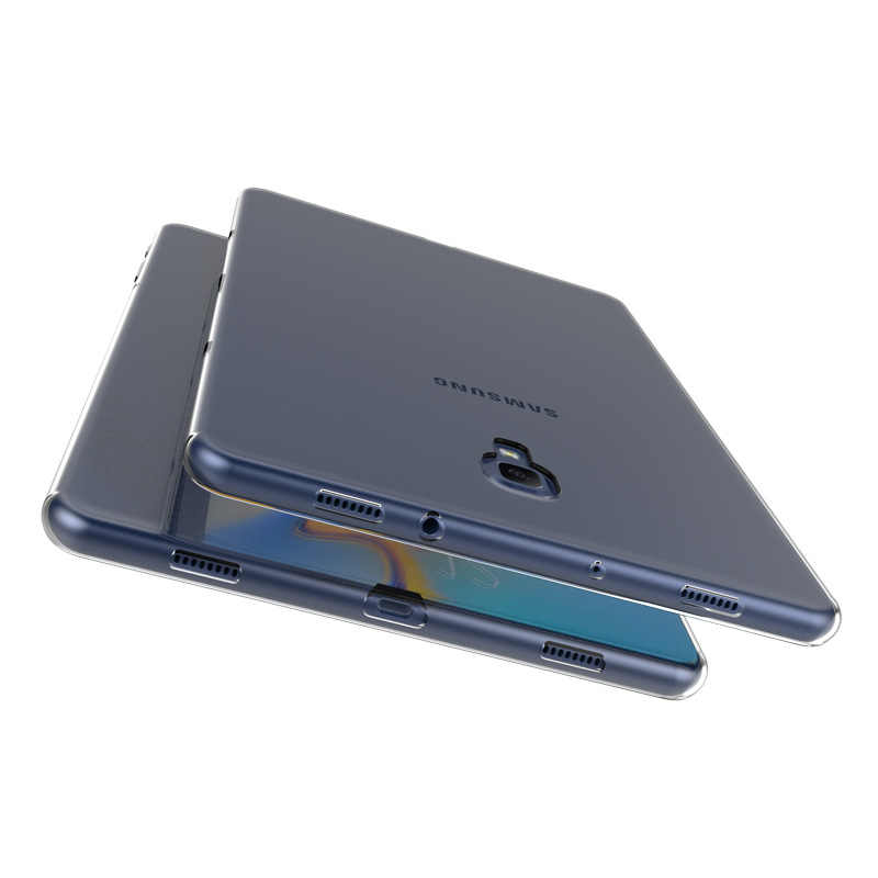 Untuk Samsung Tab S2 S3 S4 S5e 8.0 9.7 10.5 Tab 8.0 10.1 T387 P200 T710 T810 t510 T590 T830 T720 TPU Tablet Cover