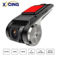 XYCING DVR ADAS USB DVR Cámara cámara Mini DVR de coche portátil Full HD cámara de visión nocturna registrador grabadora para sistema Android