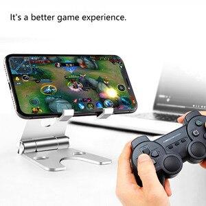 Image 5 - Ayarlanabilir alüminyum standı cep telefonu Tablet için katlanabilir taşınabilir masa tutucu akıllı telefon iPhone Samsung için iPad (çok renkli)