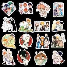 50 pièces/ensemble Anime la promesse never land autocollants Emma Ray Norman Don Gilda Phil Isabella Figure autocollant pour cadeaux muraux