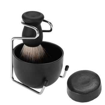 Shaving Kits for Men Gift Set Men Beard Shaving Tool Kit Shaving Brush+Brush Stand+Shaving Soap+Bowl Salon Home Travel Use 1
