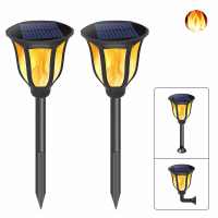 96 LED Waterproof Flickering Flame Solar Torch Light Lamp Outdoor Landscape Decoration Garden Lawn Light Zonlicht