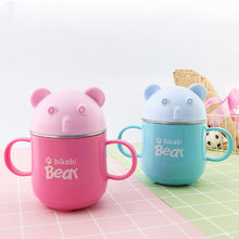 cup with cover ears cup children baby drop against the hot cup milk cup of maternal gift caneca gourdeenfant copo children's