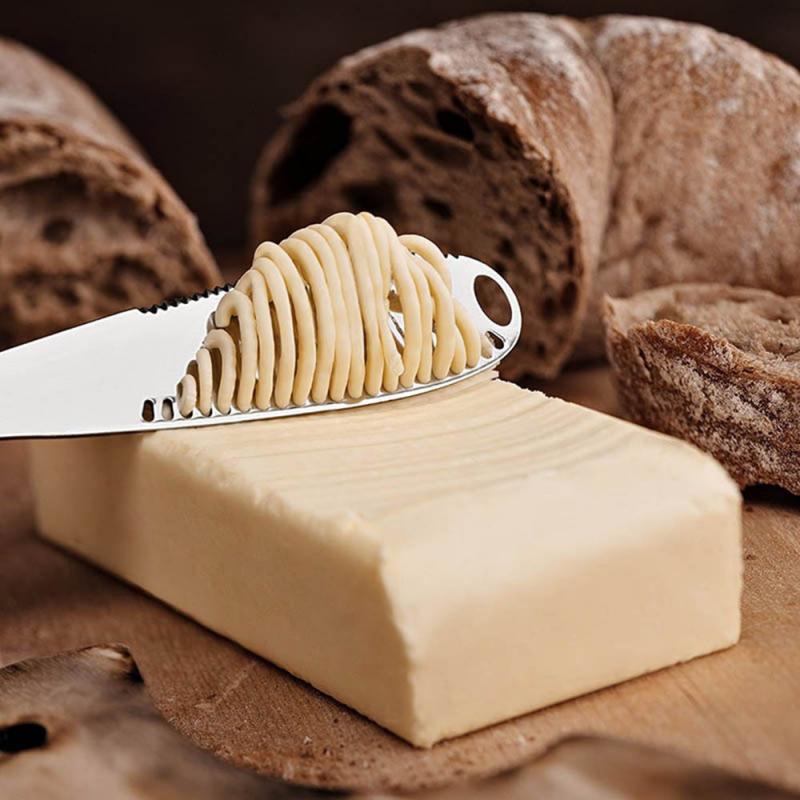 3 в 1 многофункциональная нержавеющая сталь, резак для масла, сыра, варенья, кремов, резак, утварь, столовые приборы, десертный тост для ломтиков|Ножи для сыра|   | АлиЭкспресс