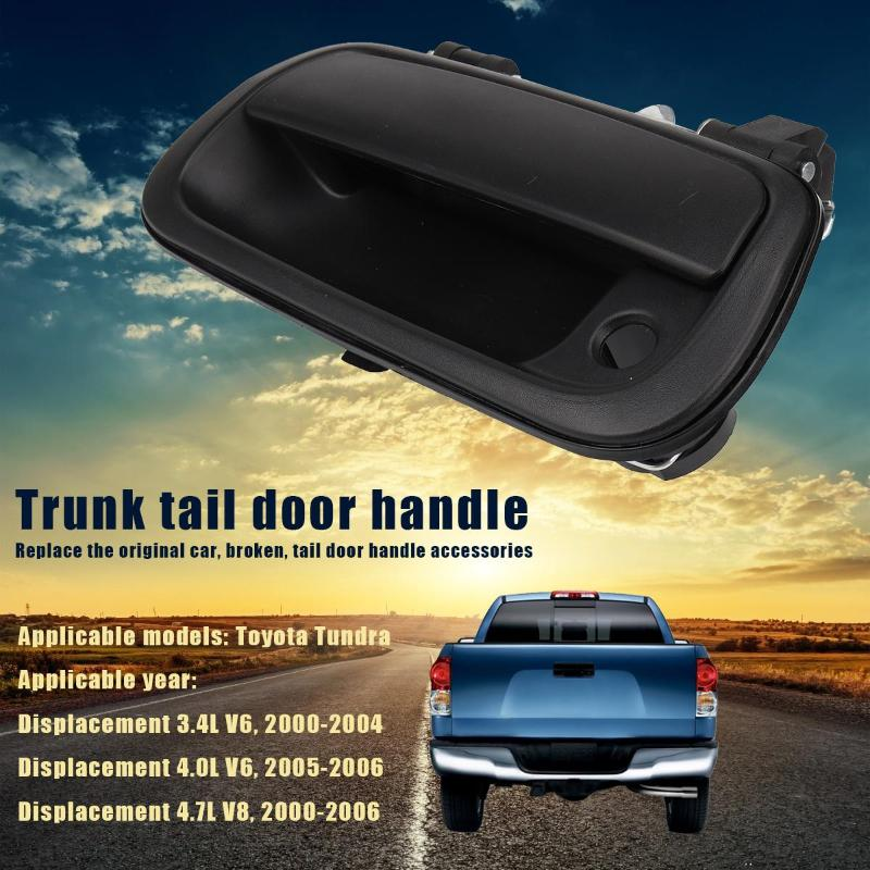 Rear Tail Gate Tailgate Handle For 2000 2006 Toyota Tundra Pickup Texture Black Ushirika Coop