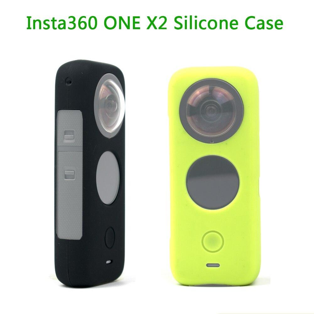 Силиконовый чехол Insta360 ONE X2, защитный чехол, чехол для Insta 360 ONE X2, аксессуары