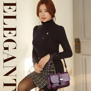 Image 3 - Vintage 3 in 1 Crossbody Bags For Women Messenger Bags 2019 Leather Luxury Handbags Women Bags Designer Sac A Main Femme