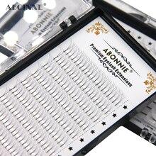 Abonnie 3d/4d/5d/6d 열 보세 사전 제작 된 볼륨 팬 Faux Mink Premade 러시아어 볼륨 속눈썹 확장 용품