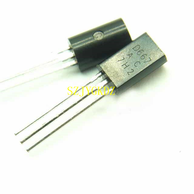 Low power audio tube Transistor D667 TO-92