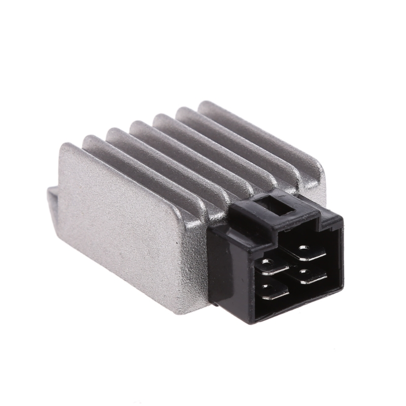 Купить с кэшбэком 1 Pair GY6 50cc 125cc 150cc Voltage Regulator Rectifier 12V 4Pin Moped Scooter ATV