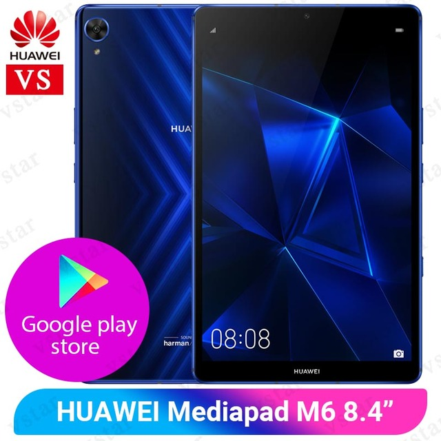 HuaWei Mediapad M6 Pro 8.4 pouces 6 go 128 go tablette Kirin 980 Octa Core Android 9.0 GPU Turbo 3.0 Google Play