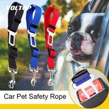 Pet Cinto de Segurança Do Carro Acessórios Do Carro Interior Para Meninas Ornamento Do Pendente Do Painel Decoração Cat Dog Leash Corda de Segurança