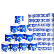 6Rolls/Lot Fast Shipping Toilet Roll Paper 3 Layer Home Bath Toilet Roll Paper Primary Wood Pulp Toilet Paper Tissue Roll