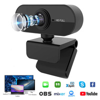 Webcam 1080P web kamera mit mikrofon Web USB Kamera Volle HD 1080P Cam webcam für PC computer Live video Aufruf Arbeit
