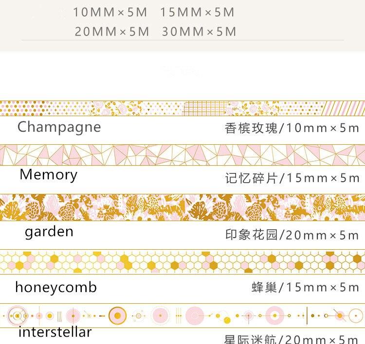 gold foil washi tape (11)