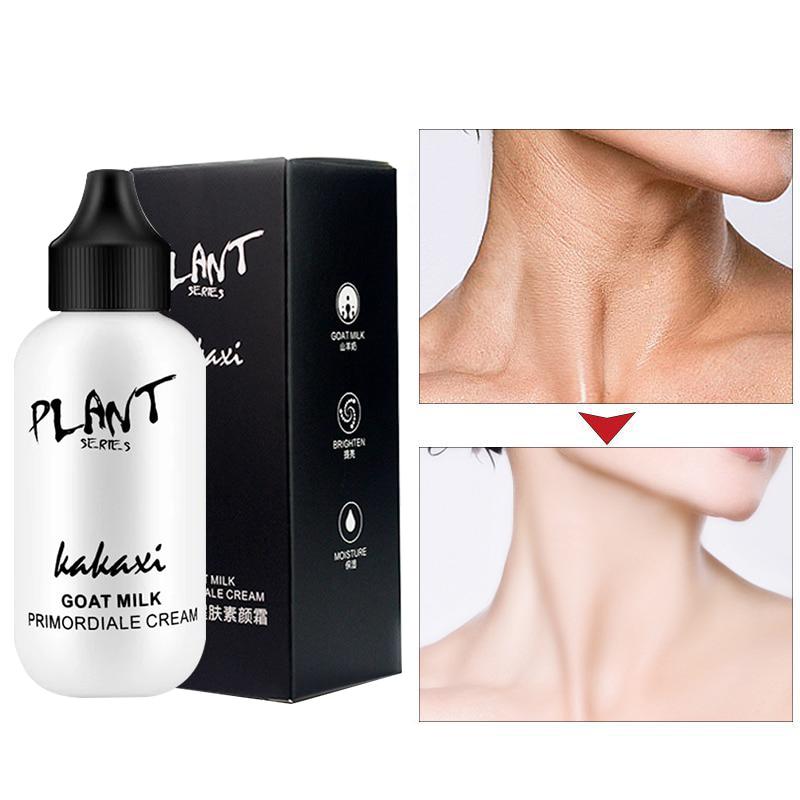 Ленивый тональный крем для лица крем козье молоко Восстанавливающий полный охват Водонепроницаемый Pro основа под макияж осветляет тон кожи...