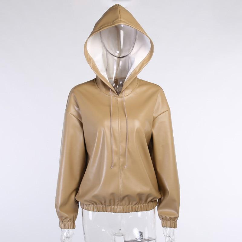 pu hoodies women 14