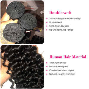 Image 2 - Top Sale Cambodian Curly Bundles with Closure Natural Color Remy Human Hair 3 Bundles with Closure Longqi Hair Vendors Fast Ship