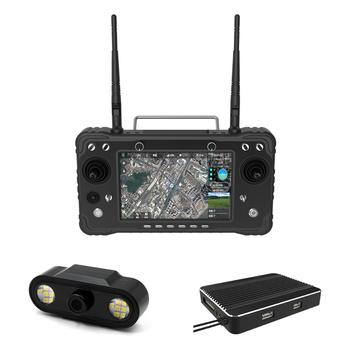 apm 2 8 flight controler with gps parts and 5 8g 250mw tx 3dr radio telemetry kit for diy f15441 f CUAV Black H16 HD 10km Video Transmission Telemetry Remote Controller Support HDMI For RC Drone Parts pixhawk Flight Controller