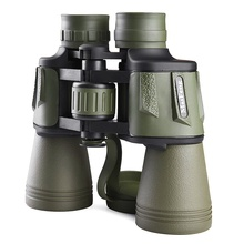 binoculars maifeng 20X50 3000m Professional Telescope Great Vision large Eyepiece Hunting Camping LLL Night Central Zoom