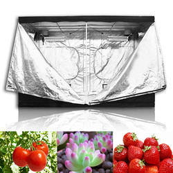 Oświetlenie led do uprawy kryty namiot do uprawy hydroponicznej  pomieszczenie do uprawy roślin rosną  odblaskowe Mylar nietoksyczny ogród szklarnie rosną wewnątrz w Namioty do hodowli roślin od Dom i ogród na