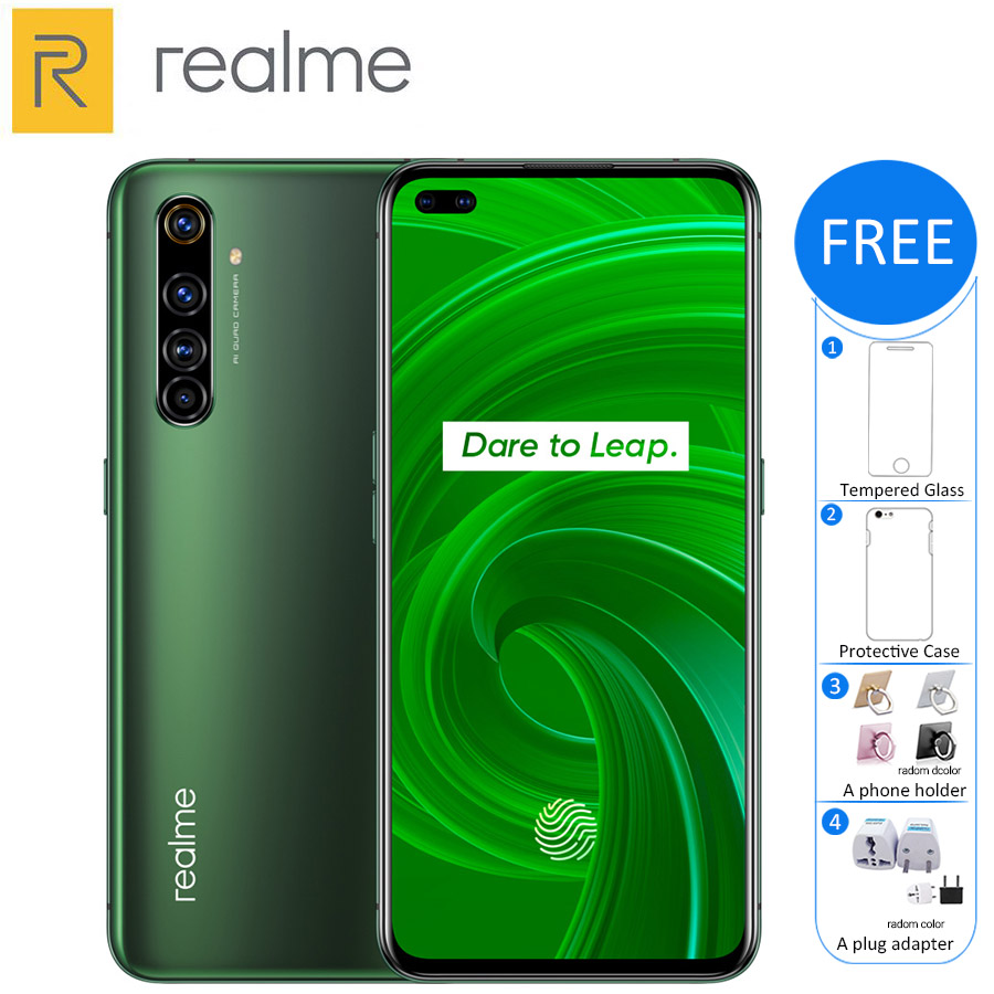 New Original Realme X50 Pro 5G Mobile Phone 8GB 128GB Snapdragon 865 4200mAh 65W Fast Charge Quad Camera 64MP NFC 5G Smartphone