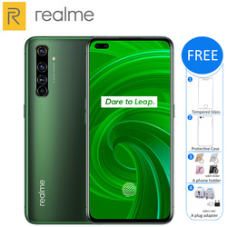 Перейти на Алиэкспресс и купить new original realme x50 pro 5g mobile phone 8gb 128gb snapdragon 865 4200mah 65w fast charge quad camera 64mp nfc 5g smartphone