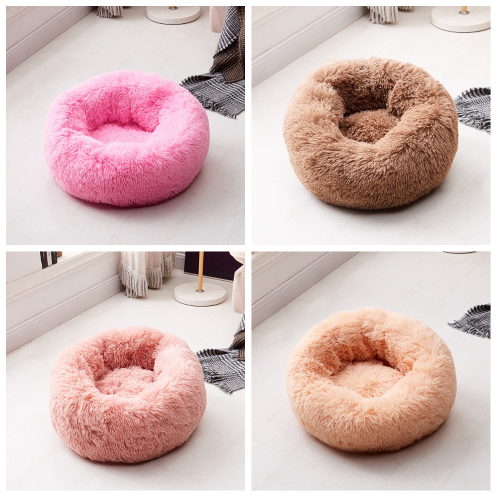 Anti Anxiet House For Cat Fleece Marshmallow Cat Bed Cushion