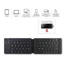 Handliche Bluetooth 3,0 Folding Tastatur Bluetooth Tastatur Licht Und Gaming Tastatur Faltbare BT Drahtlose Tastatur Für Telefon Laptop