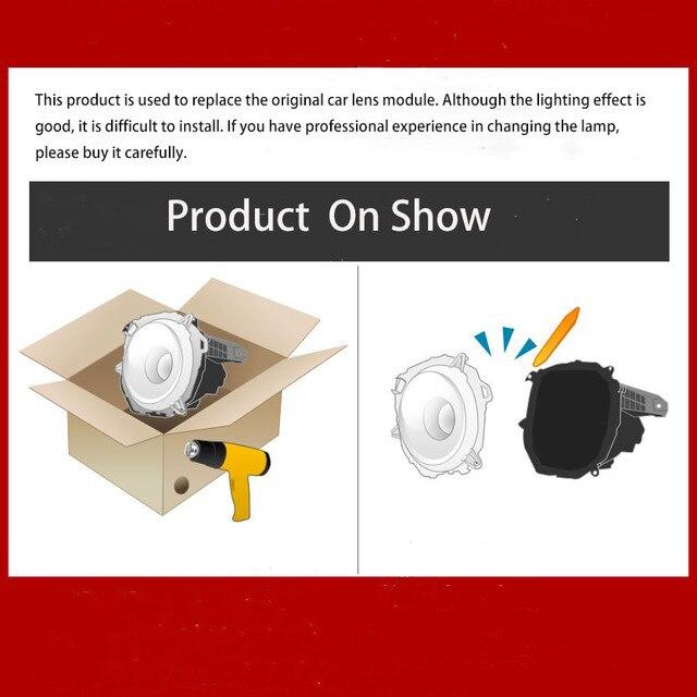 55 вт 35 дюйма bi светодиодный объектив для проектора автомобильная фотография