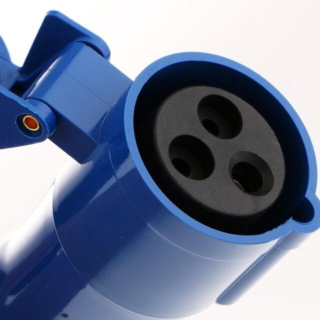 RV Camper 220V-240V 16A External Flush Hook Up Waterproof  Plug Socket 5