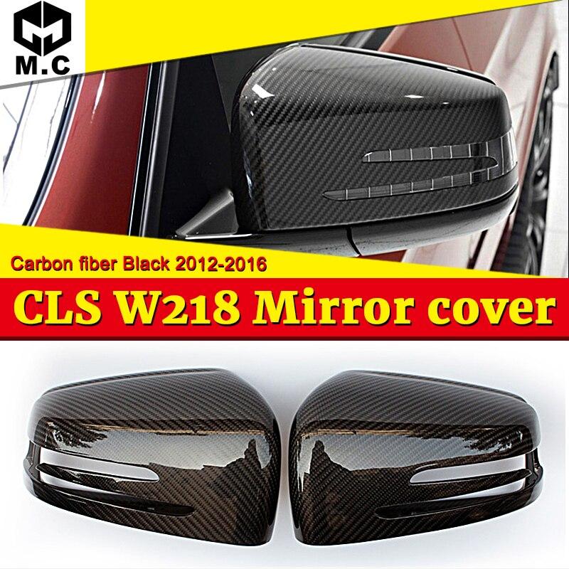 CLS-clase W218 tapa de espejo lateral 2-piezas de fibra de carbono auténtica se adapta para MercedesMB CLS200 CLS250 CLS300 mirada 1:1 reemplazo de 12-16 Transmisión conector 13-Pin adaptador macho de 722,6 para Mercedes-Benz W219 CLS320 CLS280 CLS350 CLS300 CLS500 CLS550 A2035400253