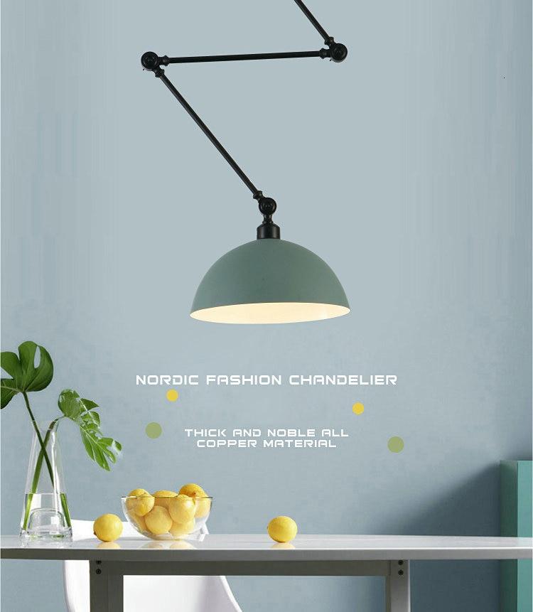 lampara verde ziry nordico