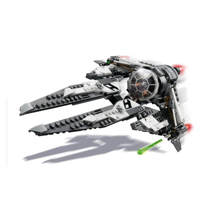 New 2020 Star Wars King Tie Intercept Fighter Building Blocks Brick Toys For Children With 75240 75242