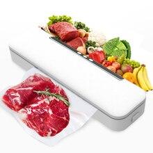 110V-240V Automatic Kitchen Vacuum Food Sealer Portable Food Storage Packaging Machine Household Dry Moist Food Vacuum Sealer