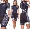 Time profissional triathlon roupa de ciclismo, camiseta de manga curta feminina, macacão, conjunto de ciclismo em gel, 2020 7