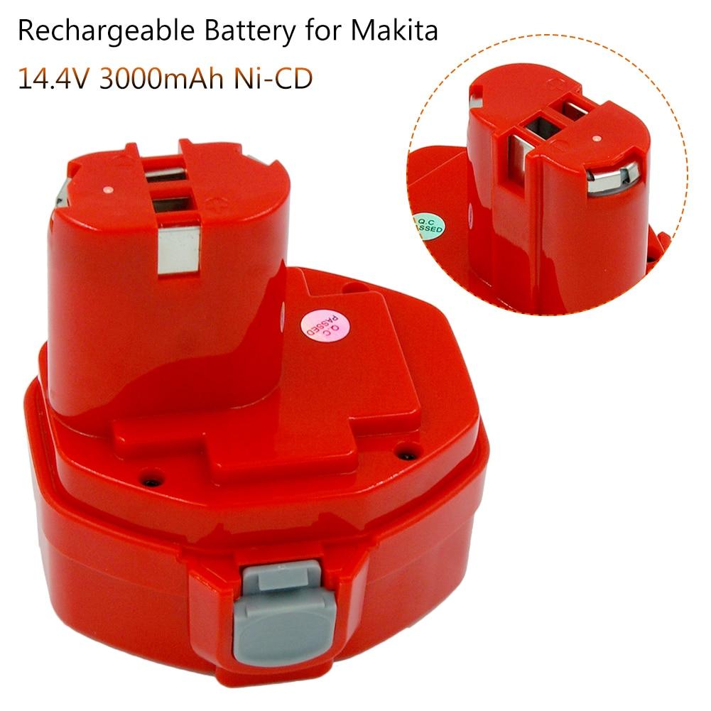 14.4V 3.0Ah Replacement Battery For Makita 1433 1434 PA14 1422 1420 1435 194172-2 6233d 6337d 6333d 6933fd 6228d 6935fd Tools