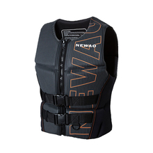 Adults Life Jacket Neoprene Water Sports Safety Life Vest for Water Ski Wakeboard Swimming Fishing Boating Kayak Safety Cloth