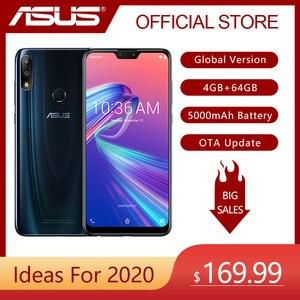 Image 1 - ASUS ZenFone Max Pro (M2) ZB631KL 4GB RAM 64GB ROM 6.3 cala 4G LTE Smartphone twarz ID 5000mAh Android 8.1