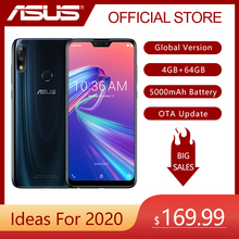 ASUS ZenFone Max Pro (M2) ZB631KL 4GB RAM 64GB ROM 6.3 pollici 4G LTE Smartphone Face ID 5000mAh Android 8.1