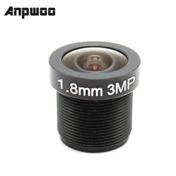 ANPWOO 2.8mm 1.8mm 3.6mm CCTV lens F2.0 M12*0.5 Wide View fisheye Lens M12 Mount Compatible Angle - discount item  21% OFF Transmission & Cables
