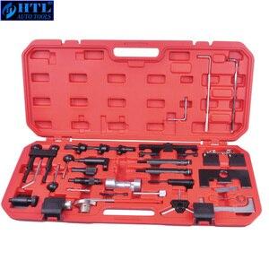 Image 1 - VW Audi A4 A6 A8 A11 용 엔진 타이밍 툴 키트의 가솔린 디젤 엔진 수리 도구