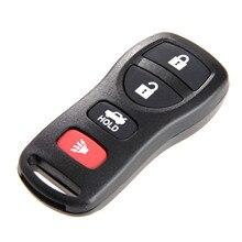 4 ボタン KBRASTU15 キーレスエントリーリモコン車のキー Fob ケースシェル 315 日産アルティマ用アルマダマキシマ 350Z セントラインフィニティ