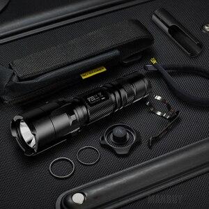 Image 5 - Indirim NITECORE P20 P20UV taktik LED el feneri su geçirmez açık kamp avı taşınabilir NTL10 + NTH30B + 2300mah pil paketi