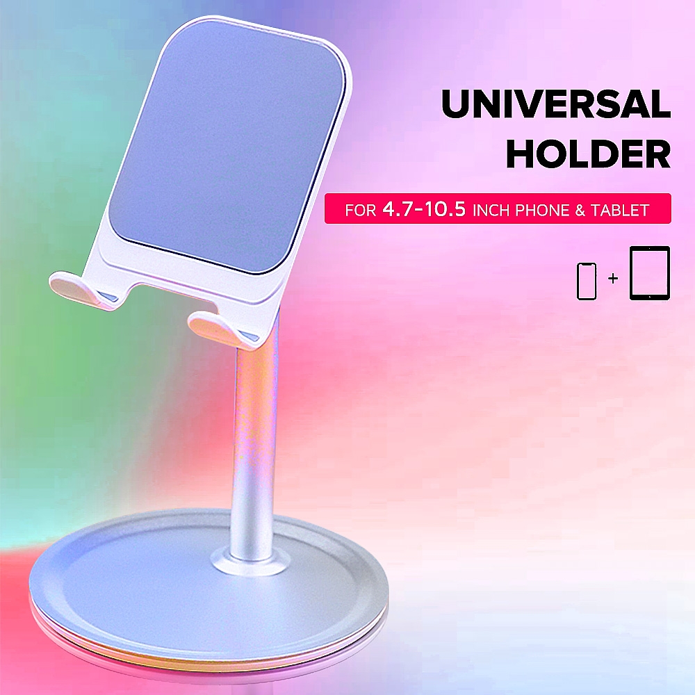 CASEIER Universal Tablet Phone Holder Desk For IPhone Desktop Tablet Stand For Cell Phone Table Holder Mobile Phone Stand Mount