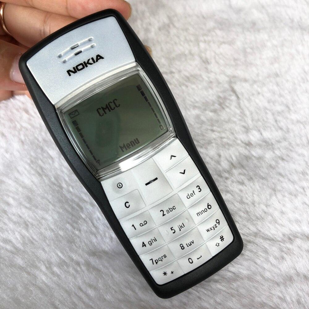 Odnowiony oryginalny telefon komórkowy NOKIA 1100 tani telefon stare telefony komórkowe, nie można używać w ameryce północnej