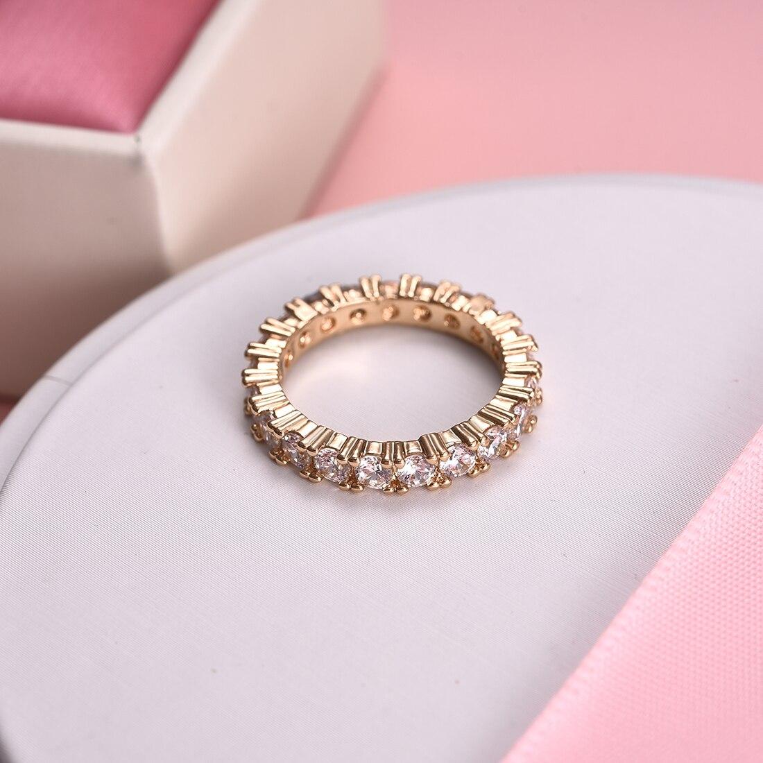 טבעת יהלומים קלאסית ויפה 4