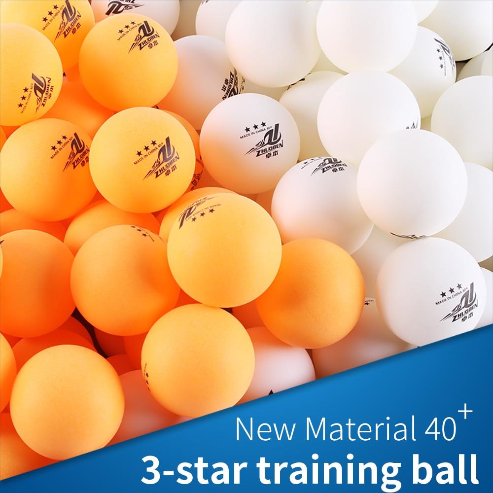 50 White 3-Star Table Tennis Balls Premium Training Ping Pong Balls