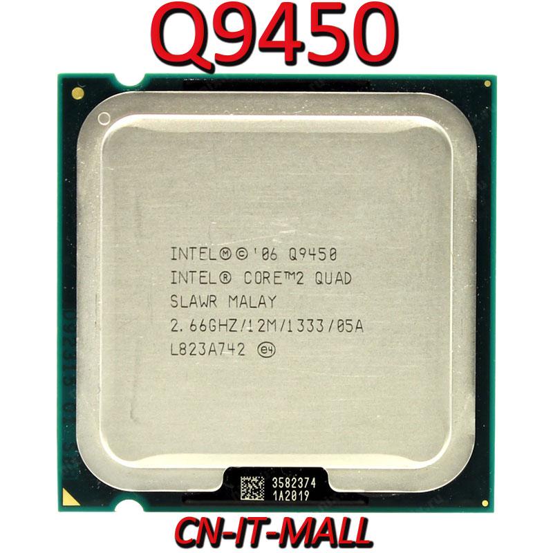 Intel Core Q9450 CPU 2.66G 12M 4 Core 4 Thread LGA775 Processor