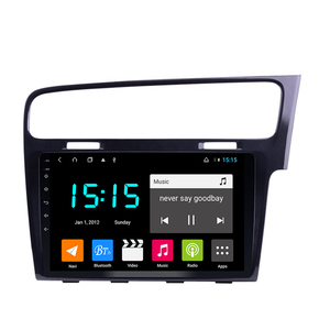 car radio GPS with 4GB ram for Right driving volkswagen VW GOLF 7 golf MK7 golf GTR bright black 10.1inch Android 8.1(China)